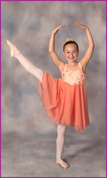 Tap, jazz, acro, lyrical, ballet and pointe classes