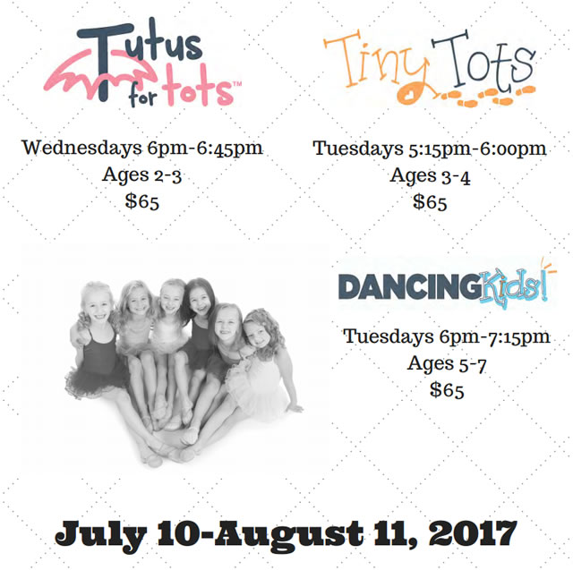 Summer 2017 Children's Classes