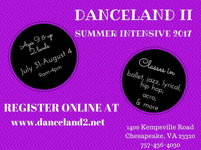 Danceland II Summer Intensive 2017